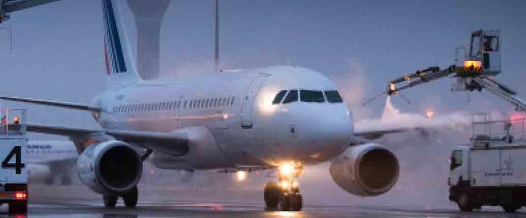 inprogroup - Sistema descongelación y protección anti-hielo para aviones en cabecera de pista